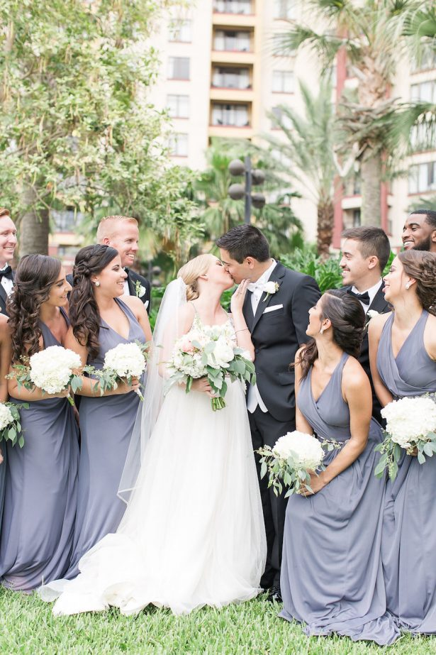 Wedding kiss - PSJ Photography