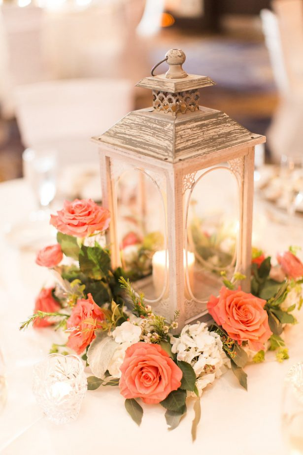 Wedding lanter centerpiece - PSJ Photography