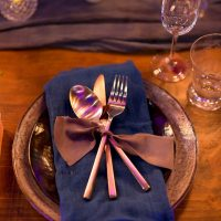 Wedding place setting - Gavin Farrington Photography