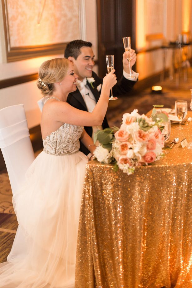 Wedding toast - PSJ Photography