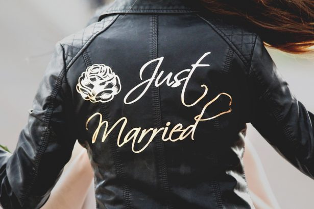 Just Married Leather Jacket Giveway