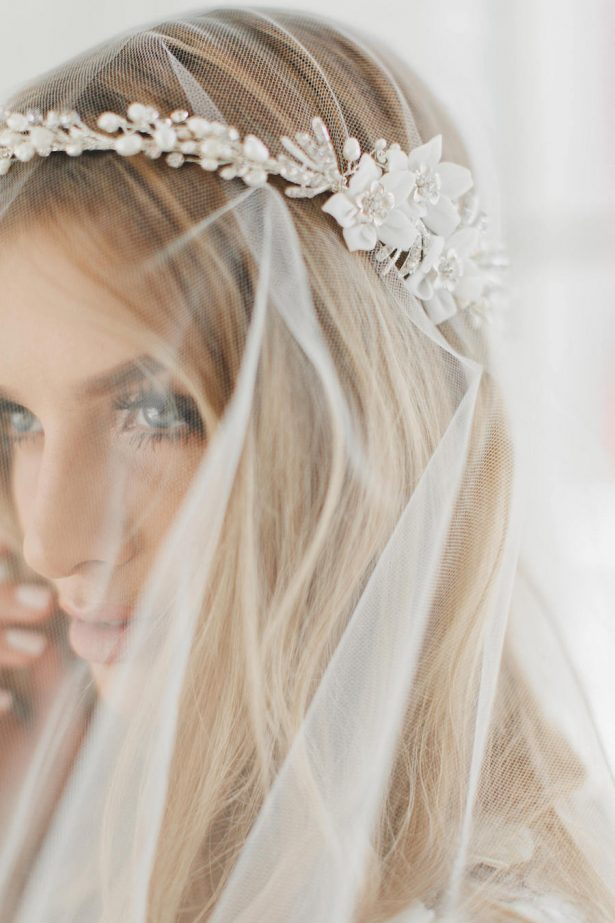 Gorgeous Bridal Headpiece | Bridal Wreath, Bridal Vine