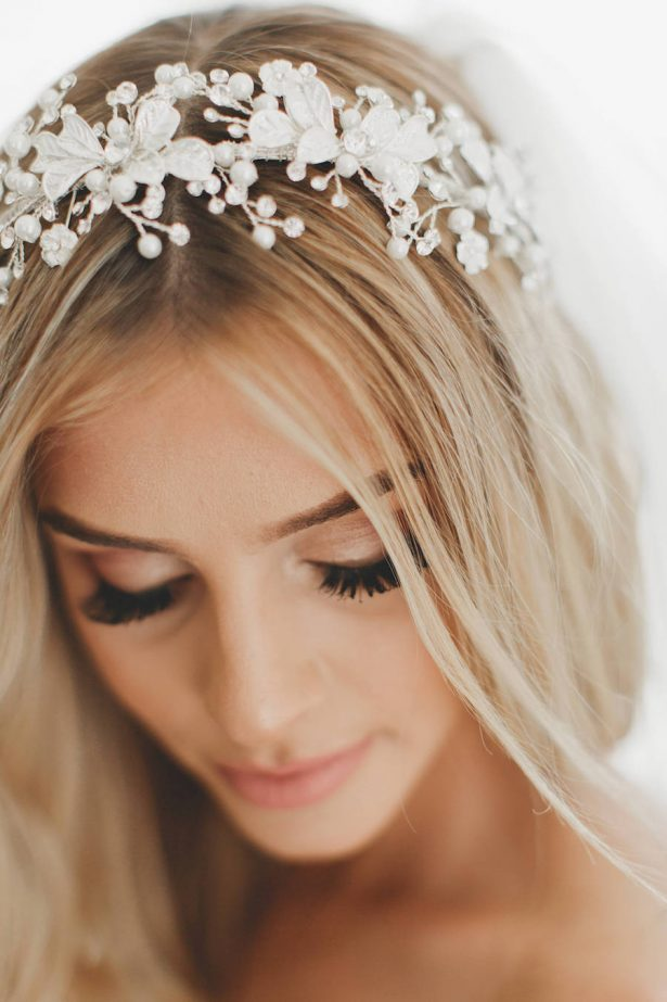 Gorgeous Bridal Headpieces | Wedding Headpiece, Pearl Bridal Crown