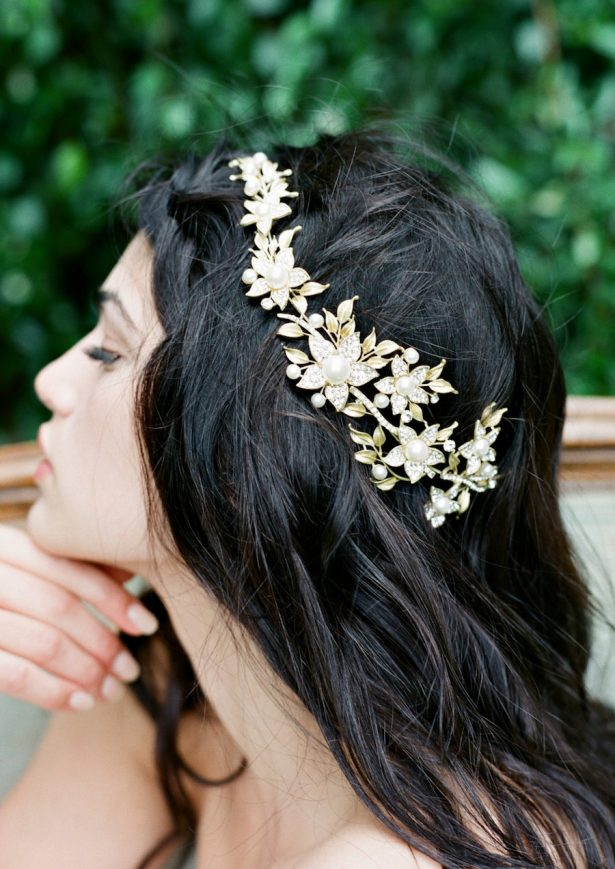 Gold Bridal Headpiece | Wedding Hair Accessories