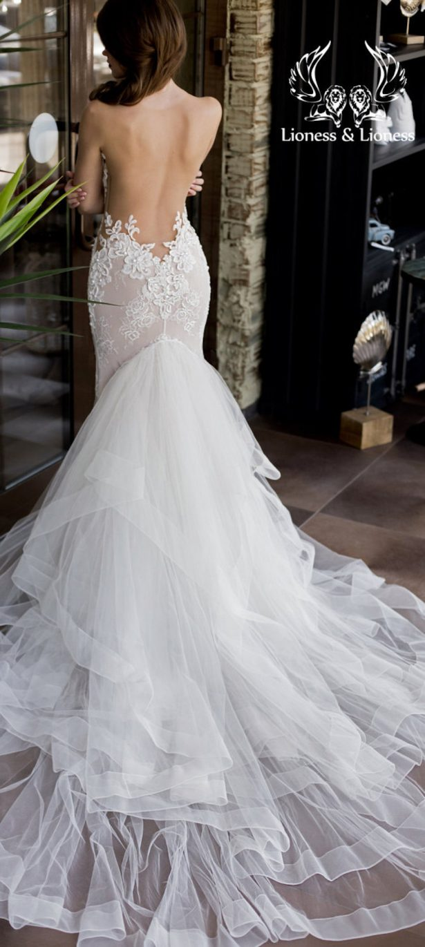 Etsy Wedding Dress - by Lioness and Lioness
