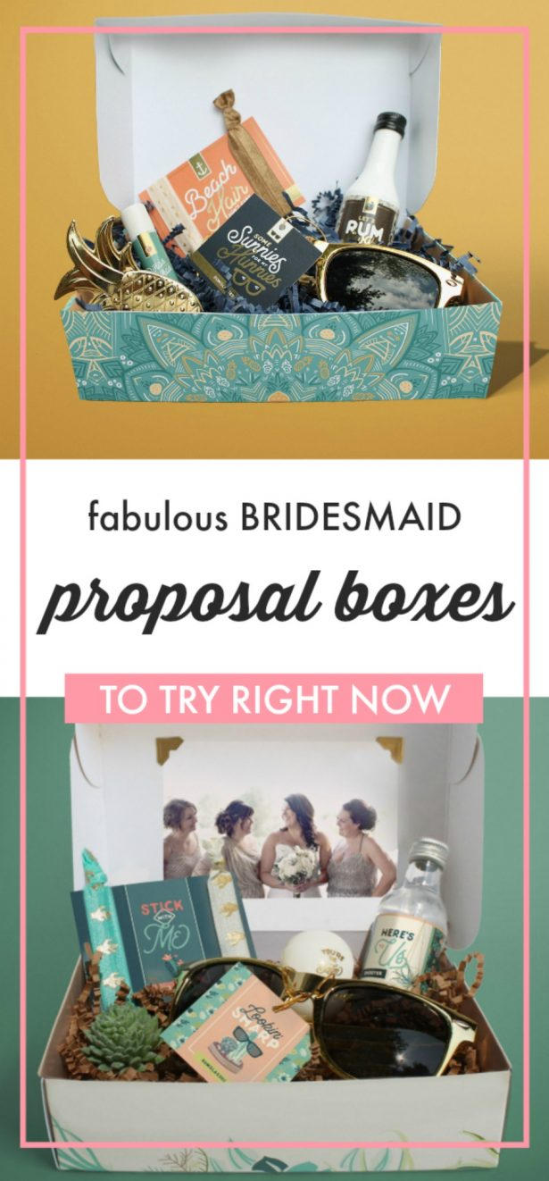 Bridesmaid Proposal Box -Mailbox Melodies