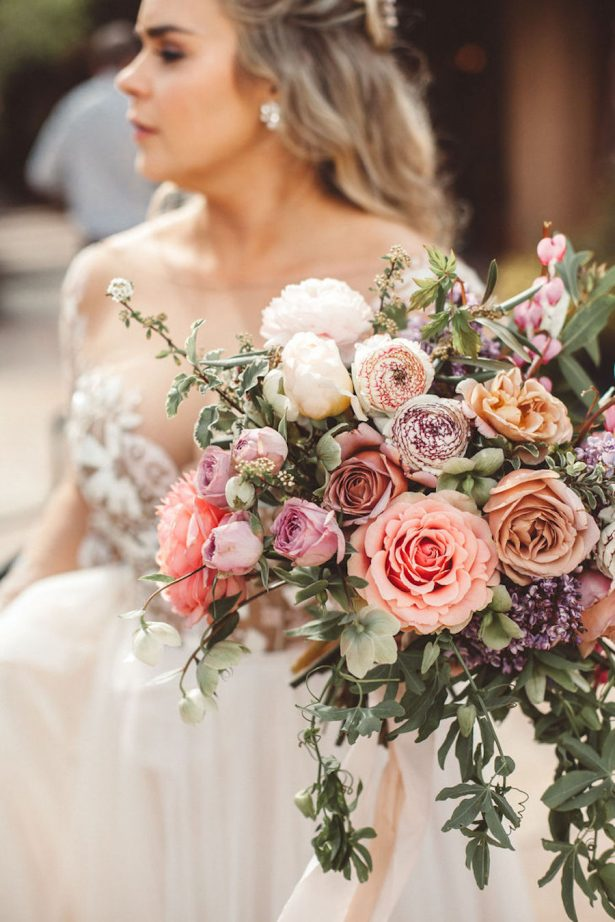 Stunning Wedding Bouquet - Alicia Lucia Photography