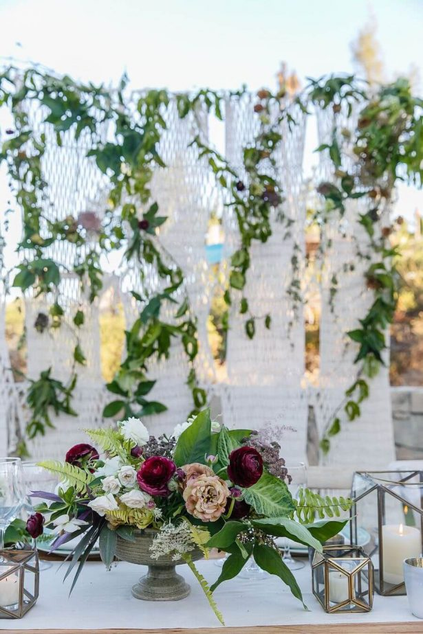 Wedding Installation | Greenery Wedding Decor