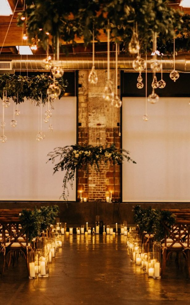 Wedding Installation | Organic Wedding Ceremony Decor- Bridal Bliss - Dylan Howell Photography