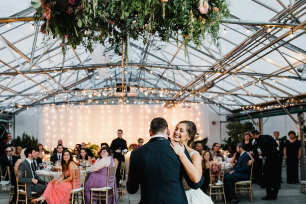 Wedding Installation | Hanging Floral Wedding Chandelier
