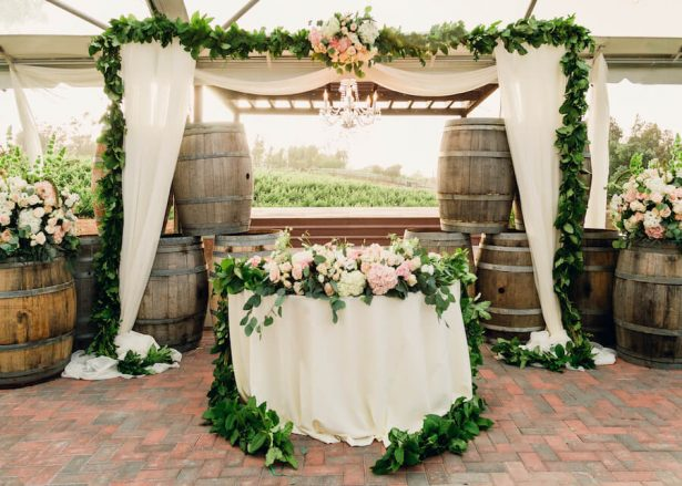 Wedding Installation | Sweetheart Table