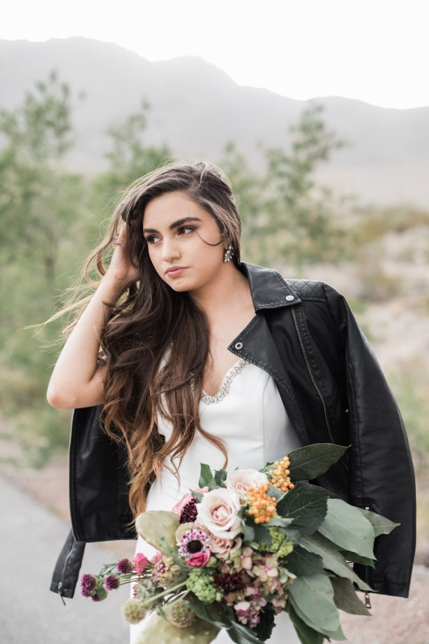 Fashion forward bride - Coffee Creative Photography