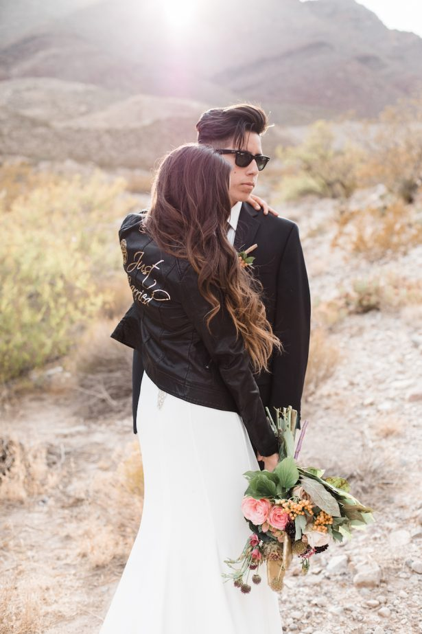 wedding leather jacket - Coffee Creative Photography