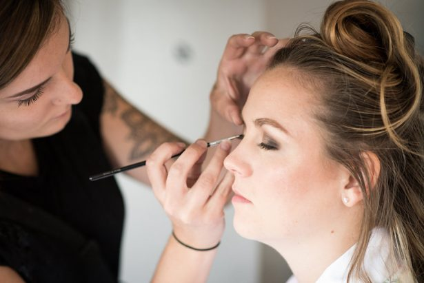 Bridal Makeup Cart - Bethany Walter Photography