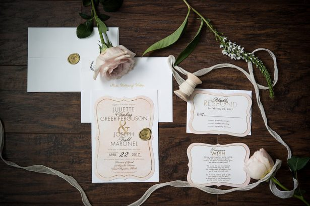 Classic Wedding Invitations - Bethany Walter Photography