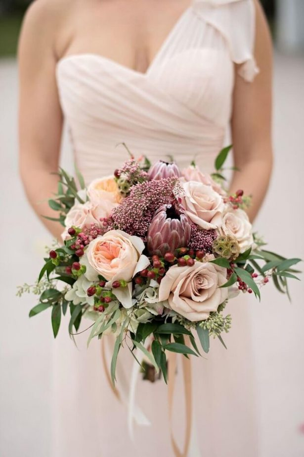 Beautiful dusty rose wedding ideas that will take your for Wedding flowers ideas pictures