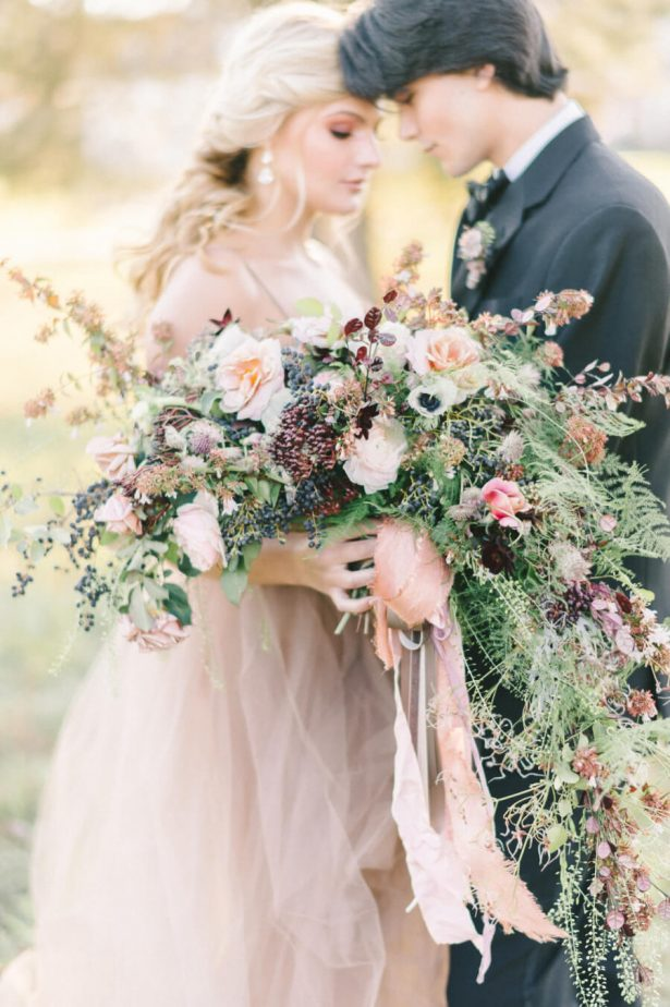 Dusty Rose Wedding Ideas - Bridesmaid Dresses - Erin Duffy Photography