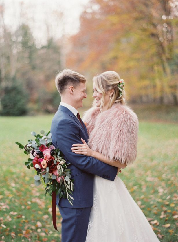 Fall Foliage Weddings - A Charming Fete - Lauren Gabrielle Photography - Florals: Molly Taylor and Co. 2