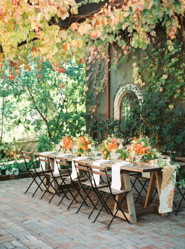 Fall Wedding Tablescape - Country Bouquets Floral - Amanda k Photography