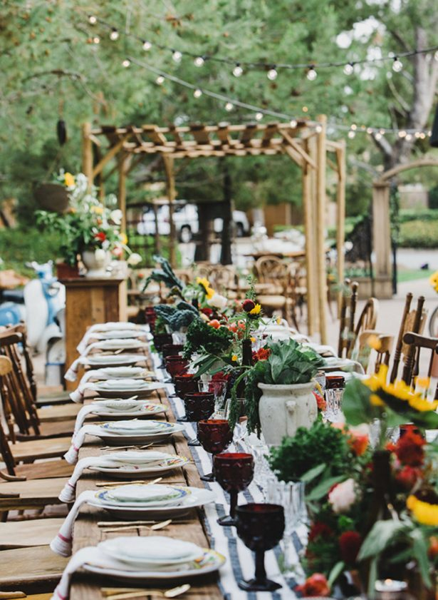 Fall Wedding - 011. Image via Inspired By This - Dana Grant Photography - Design: Crosby and Jon - Rentals: Archive Rentals - Florals: Krista Jon - Venue: Pelican Hill Resort