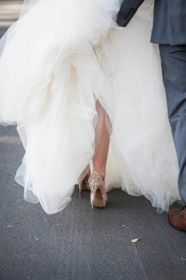 Glamorous Wedding Shoes - Bethany Walter Photography