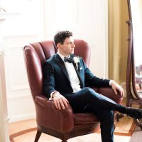 Groom Tuxedo - Lindsay Campbell Photography