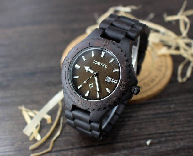 Groomsmen Gift - ENGRAVED WOODEN WATCH