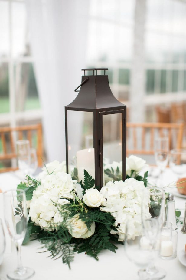 Lantern Wedding Centerpiece - Lindsay Campbell Photography