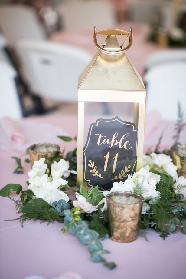 Lantern Wedding Centerpiece - Bethany Walter Photography
