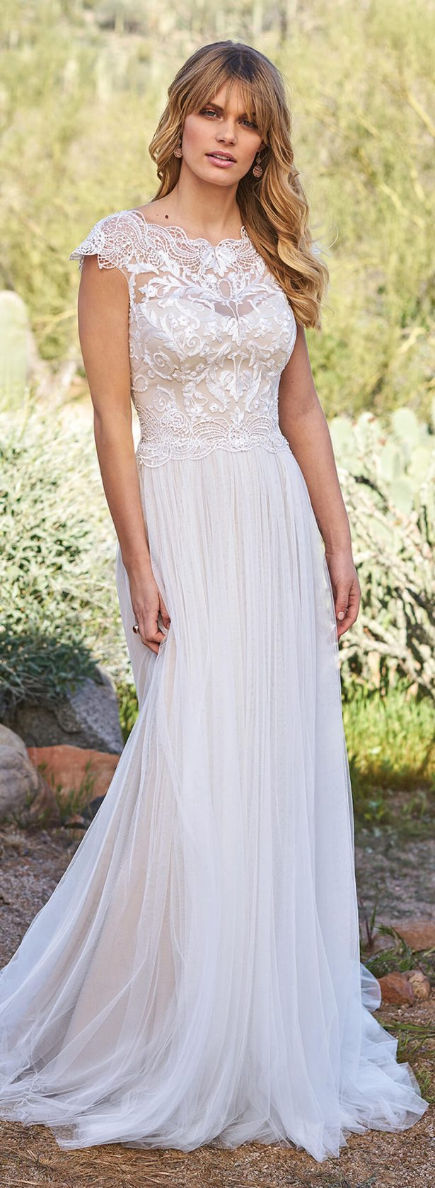 f59c7317a51 Lillian West Wedding Dress Collection Spring 2018 - Belle The Magazine