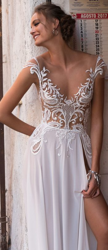 MUSE By Berta Sicily Wedding Dress Collection Belle The