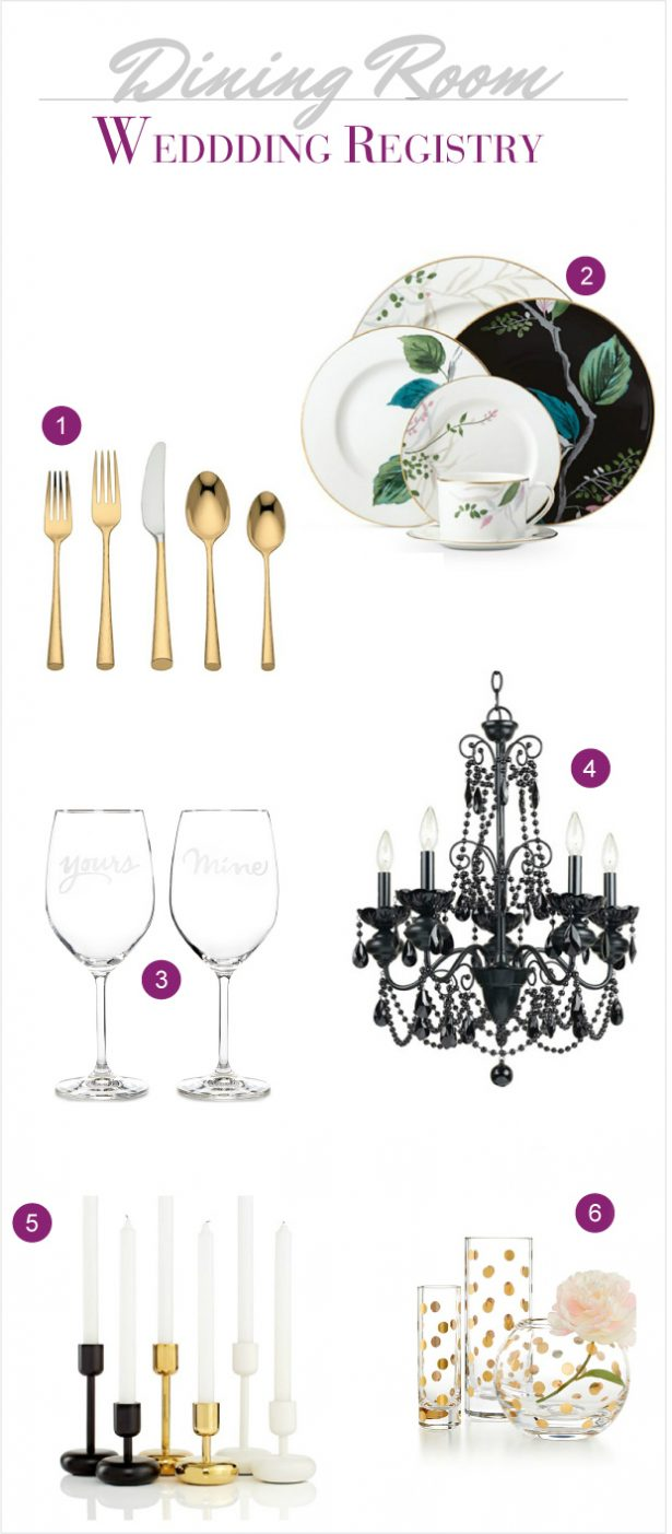 Macy's Wedding Registry collection
