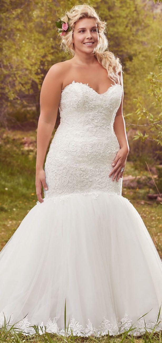 Maggie Sottero Pluss Size Wedding Dress - Lansing