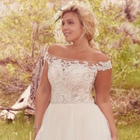 Flattering Plus-Size Wedding Gowns for the Stylish and Romantic Bride