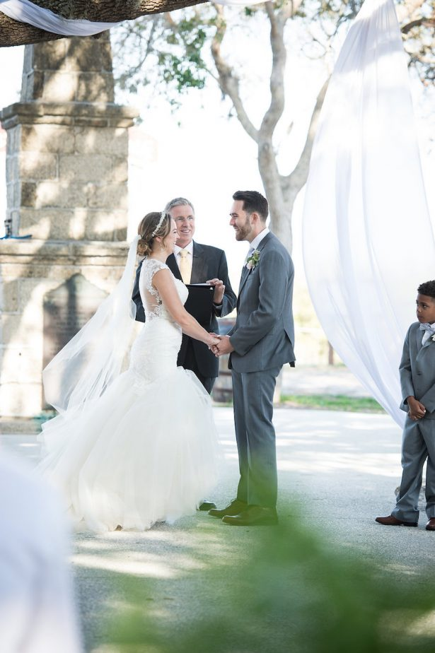Outdoor Wedding Ceremony - Bethany Walter Photography