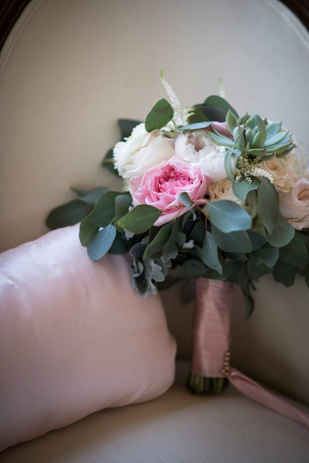 Pink Wedding Bouquet - Bethany Walter Photography