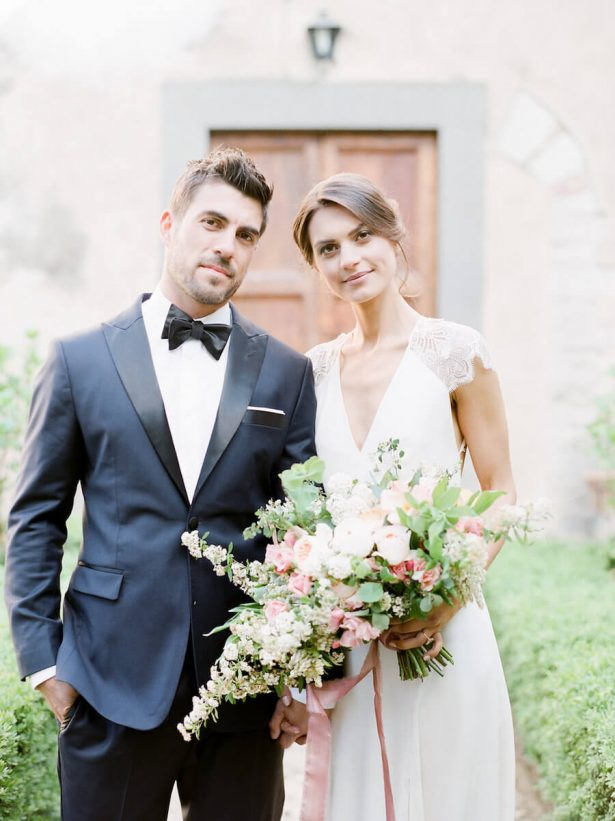 Sophisticated Bride and Groom - Stella Yang Photography