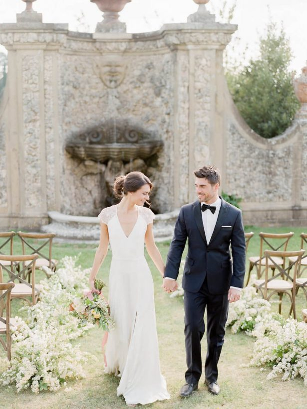 Tuscany inspirinded wedding Ceremony - Stella Yang Photography