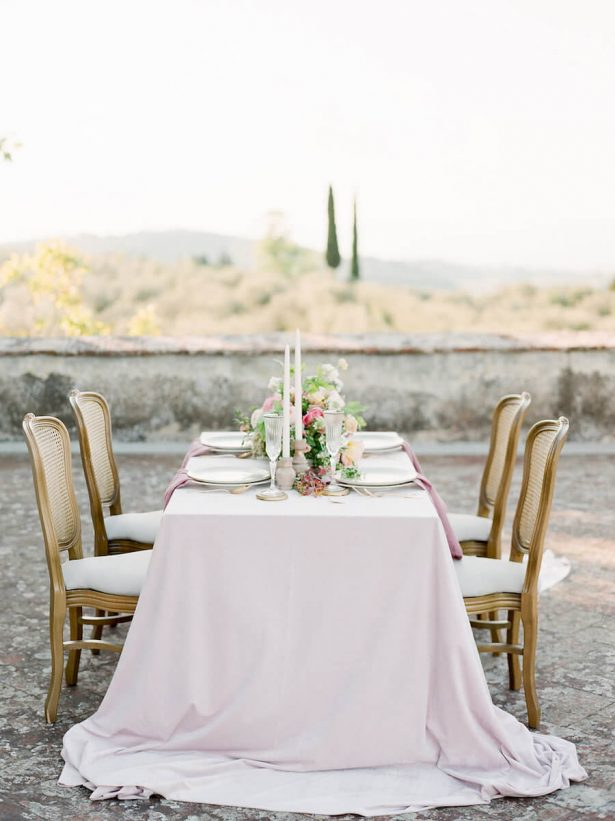Vintage Wedding Tablescape - Stella Yang Photography