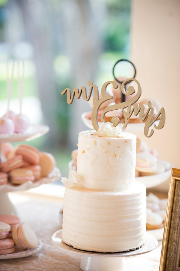 Wedding Cake - Bethany Walter Photography