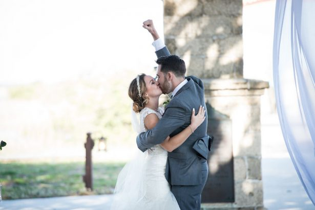 Wedding Kiss - Bethany Walter Photography