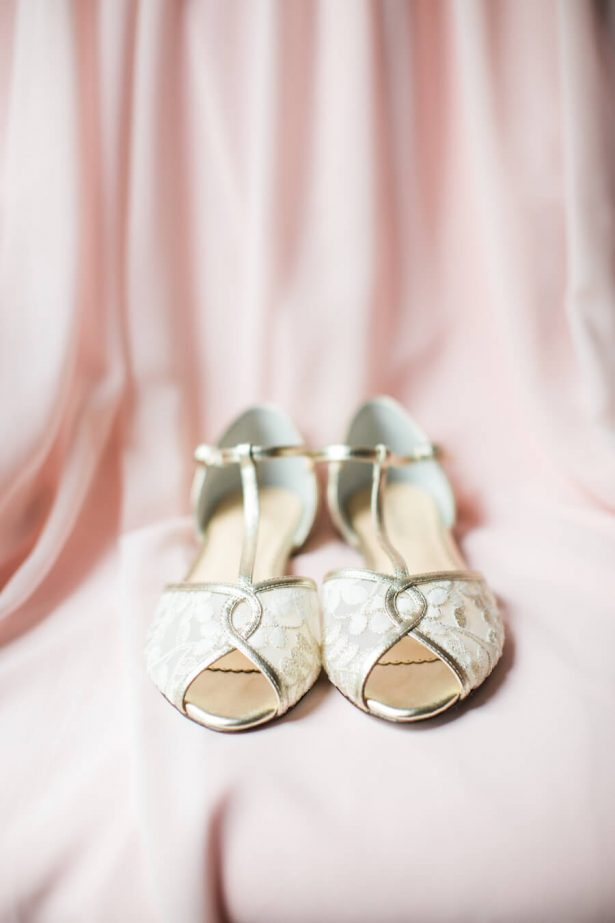 Wedding Shoes - Lindsay Campbell Photography