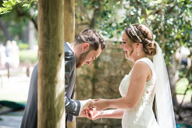 Wedding first look - Bethany Walter Photography