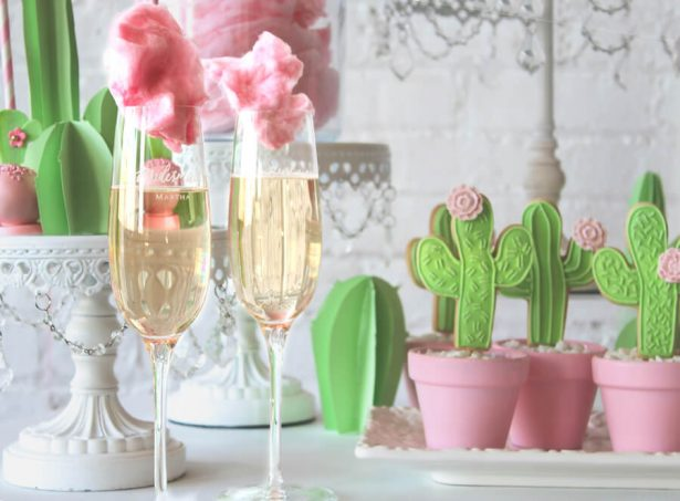 cactus and cotton candy party - Belle The Magazine, Ur New Image, MeCupcake