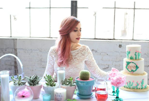 cactus and cotton candy party ideas - Belle The Magazine, Ur New Image, MeCupcake