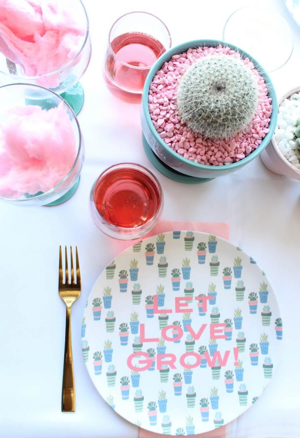 cactus party plates - Belle The Magazine, Ur New Image, MeCupcake