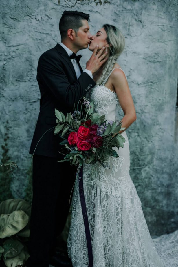 Edgy and Glamorous Wedding Inspiration - Lindsey Morgan Photography