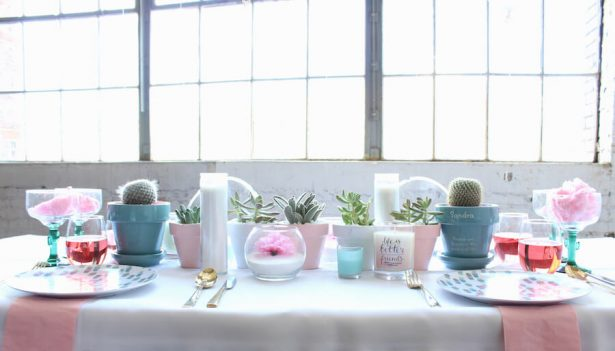 modern tablescape - Belle The Magazine, Ur New Image, MeCupcake