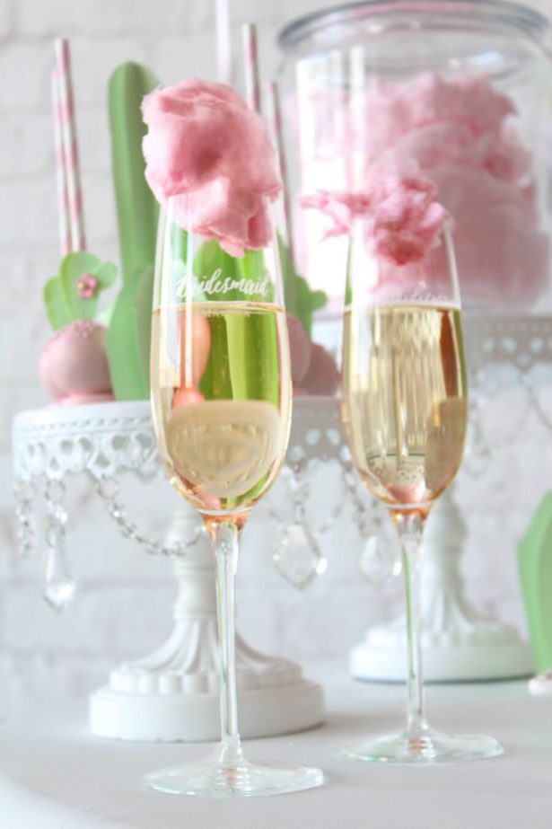 personalized flutes - wedding gifts - Belle The Magazine, Ur New Image, MeCupcake