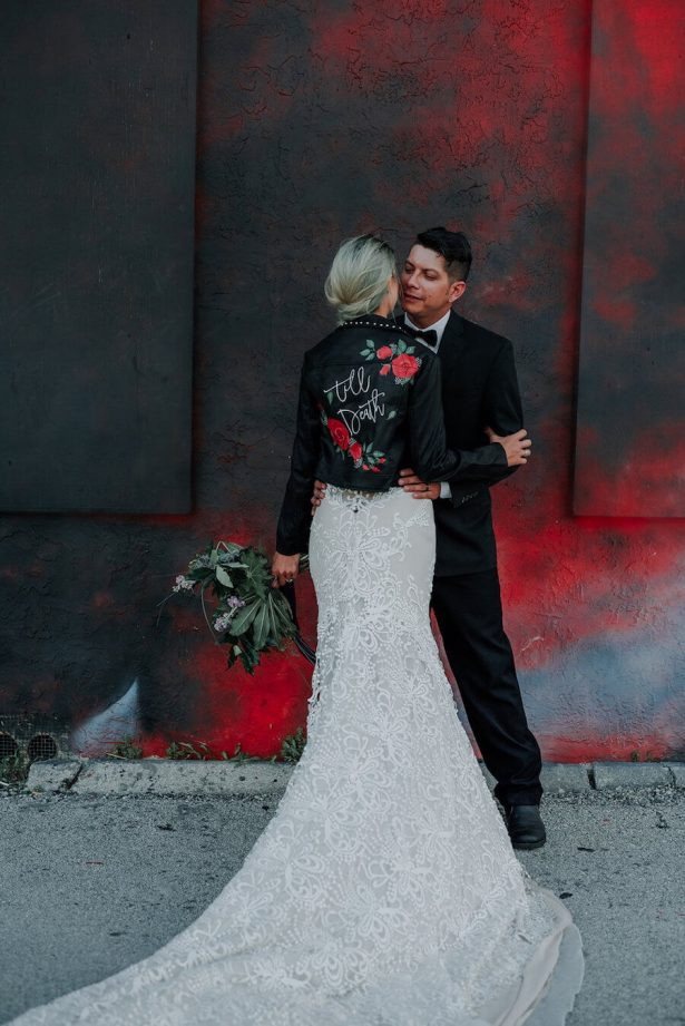 rock and roll wedding - Lindsey Morgan Photography